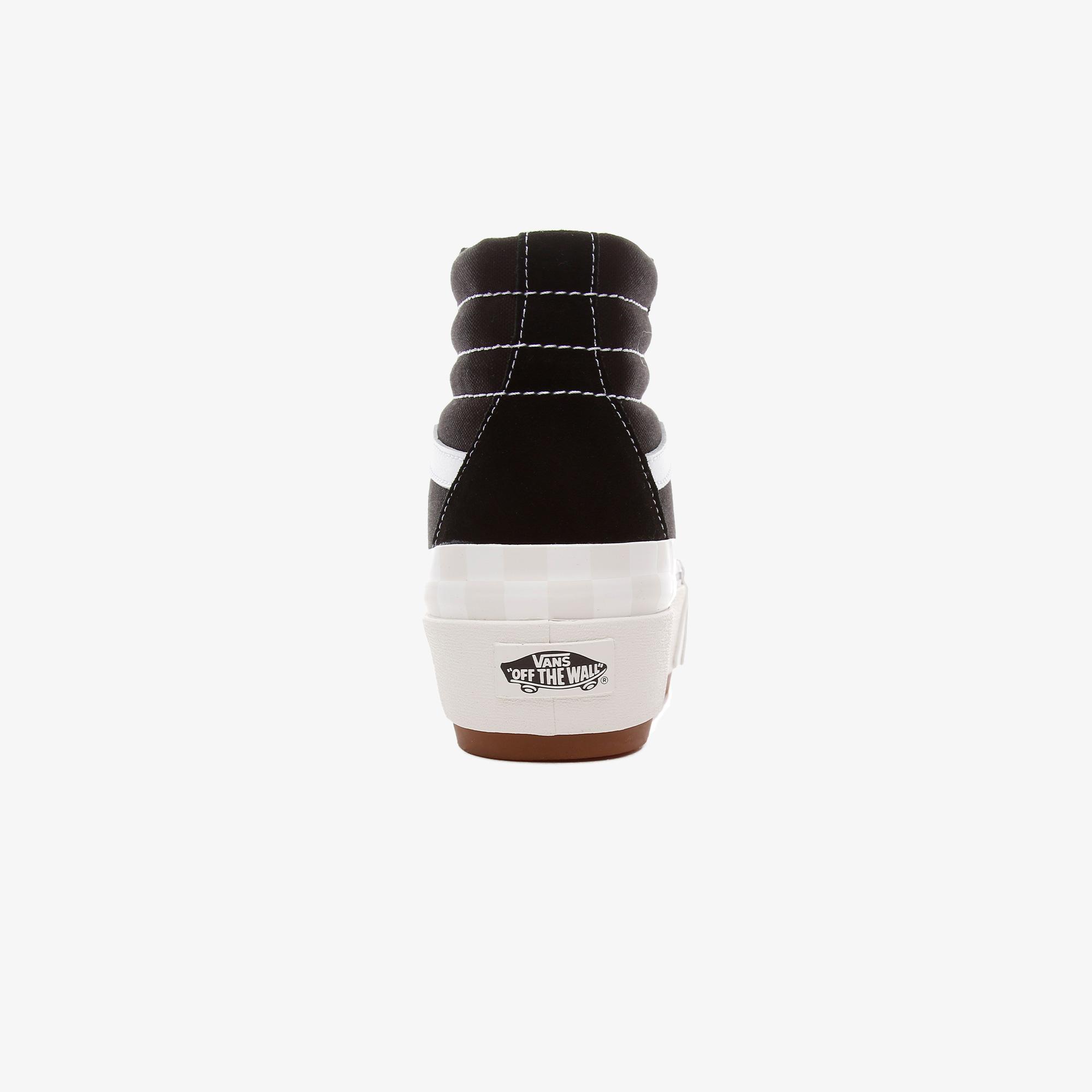 Vans UA Sk8-Hi Stacked Unisex Siyah Sneaker